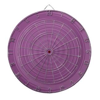 Rosa púrpura tabla dardos