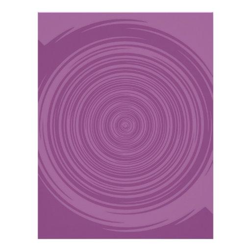 Rosa púrpura plantillas de membrete