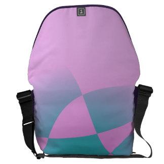 Rosa purpurino bolsa messenger