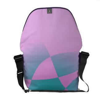 Rosa purpurino bolsas de mensajería