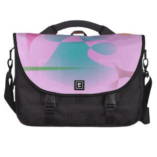 Rosa purpurino bolsas de portatil