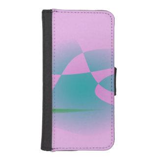 Rosa purpurino billetera para iPhone 5
