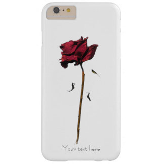 Rosa que se marchita funda para iPhone 6 plus barely there