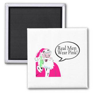 Rosa real del desgaste de hombres iman de frigorífico