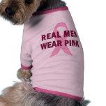 Rosa real del desgaste de hombres para la concienc ropa de perros