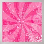 rosa retro poster