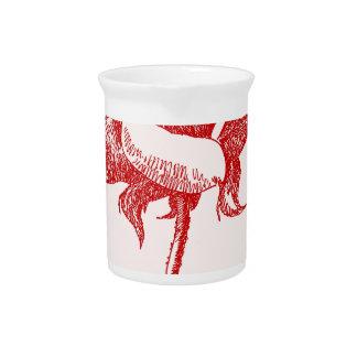 Rosa rojo 16 jpg jarras de beber