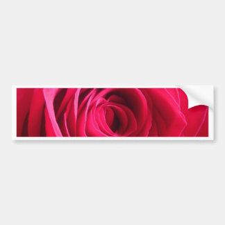 Rosa rojo * amor pegatina para auto