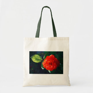 Rosa rojo bolsa tela barata