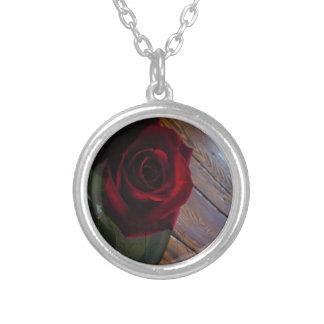 Rosa rojo grimpola
