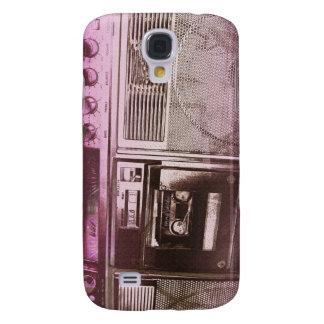 Rosa rojo de Boomboxer Funda Para Samsung Galaxy S4