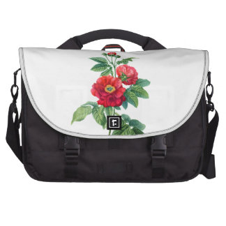 Rosa rojo de la provincia bolsa de ordenador