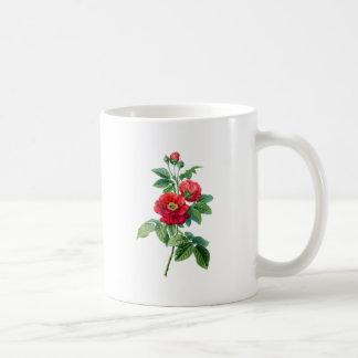 Rosa rojo de la provincia taza clásica