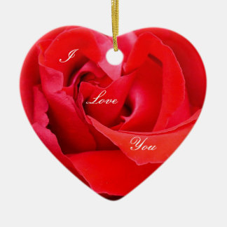 rosa rojo del lápiz labial ornaments para arbol de navidad