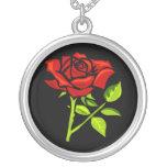 Rosa rojo día 12 de junio feliz grimpola