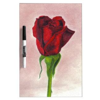 Rosa rojo elegante por CricketDiane Pizarras