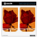 Rosa rojo floral FreeAgent GoFlex calcomanías