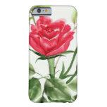 Rosa rojo funda barely there iPhone 6