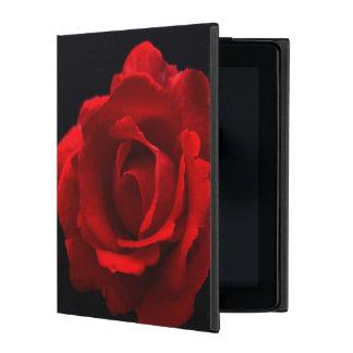 Rosa rojo iPad cárcasa