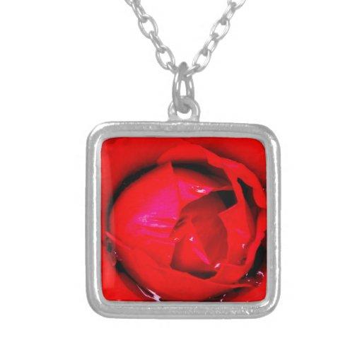 Rosa rojo joyerias personalizadas