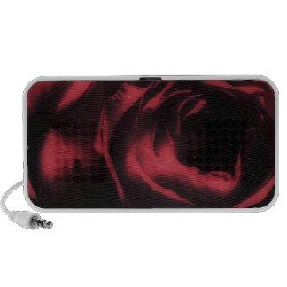 Rosa rojo, locutor del Doodle de OrigAudio™ iPod Altavoz