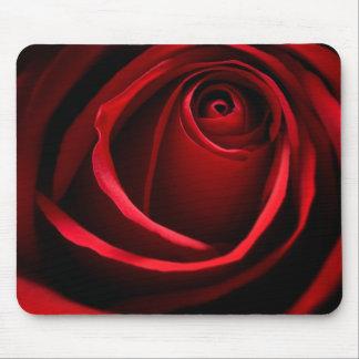 Rosa rojo Mousepad