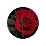 Rosa rojo relojes
