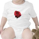 Rosa rojo, rojo Onsies/enredaderas infantiles Traje De Bebé
