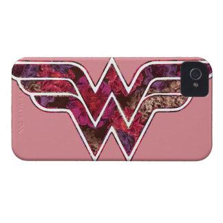Rosa rojo WW iPhone 4 Case-Mate Carcasas