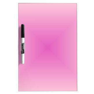 Rosa rosa claro y oscuro de la pendiente cuadrada pizarra blanca