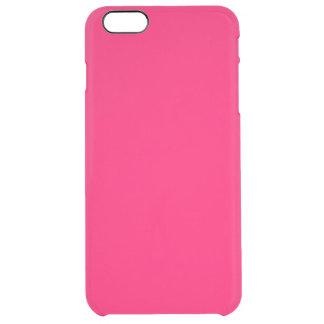 Rosa Rosado-Tropical Rosado-Rosa-Caliente de Funda Clearly™ Deflector Para iPhone 6 Plus De Unc
