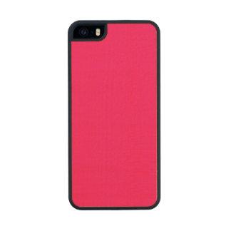 Rosa Rosado-Tropical Rosado-Rosa-Caliente de Funda De Arce Carved® Para iPhone 5 Slim