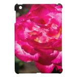 Rosa rosado y blanco magenta iPad mini protectores