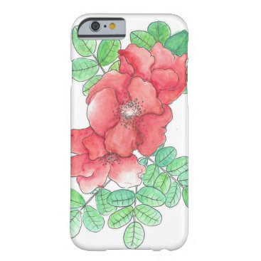 Rosa Rugosa Barely There iPhone 6 Case