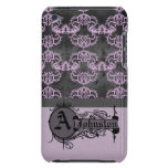 Rosa suave 6 tribales iPod Case-Mate protector