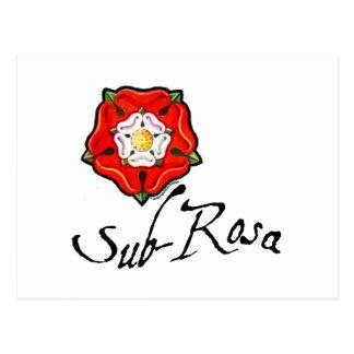 Rosa sub postales