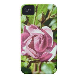 Rosa subió, naturaleza Case-Mate iPhone 4 cobertura