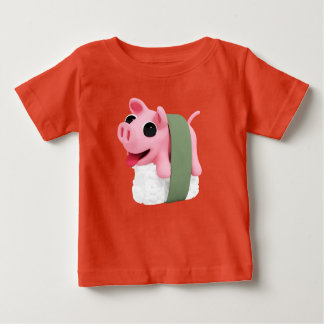 Rosa the Pig are a sushi Baby T-Shirt