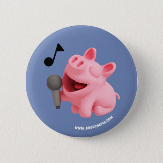 Rosa the Pig does Karaoke Button