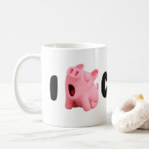 Rosa the Pig I Rosa Lazy Coffee mosquito Coffee Mug