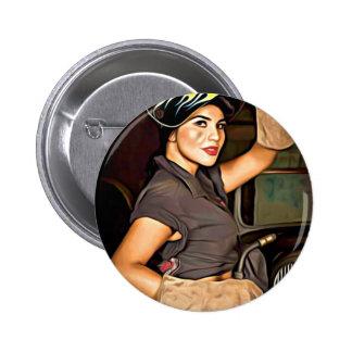 Rosa-the-welder Button