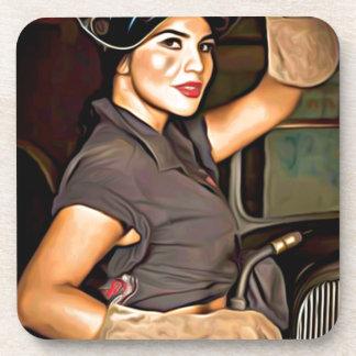 Rosa-the-welder Coaster