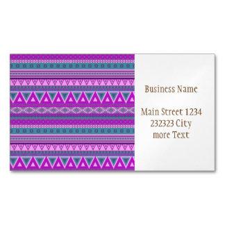 rosa tribal de lujo del modelo 08 de la frontera tarjetas de visita magnéticas (paquete de 25)