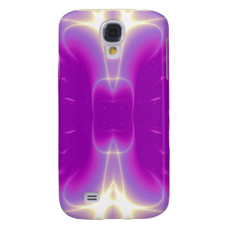 Rosa violeta púrpura de las ONDAS LIGERAS Funda Para Galaxy S4