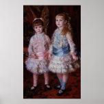 Rosa y azul o, los chicas de los d'Anvers de Cahen Poster