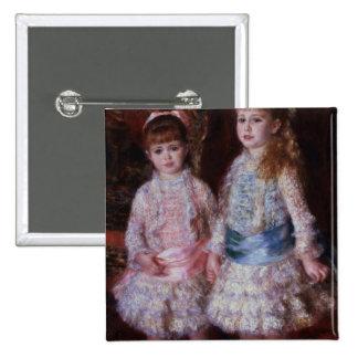 Rosa y azul o, los chicas de los d'Anvers de Cahen Pin Cuadrado