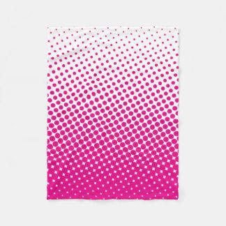Rosa y blanco de semitono del modelo de punto del
