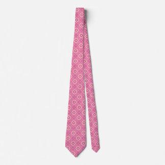 Rosa y florido… corbata personalizada