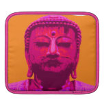 Rosa y naranja de la prueba de Buda Funda Para iPads