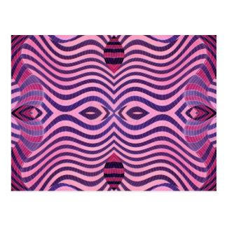 rosa y negro salvajes tarjetas postales